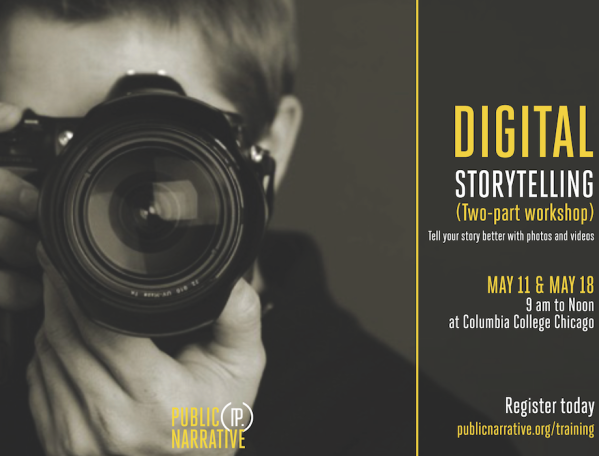 Digital Storytelling official workshop design
