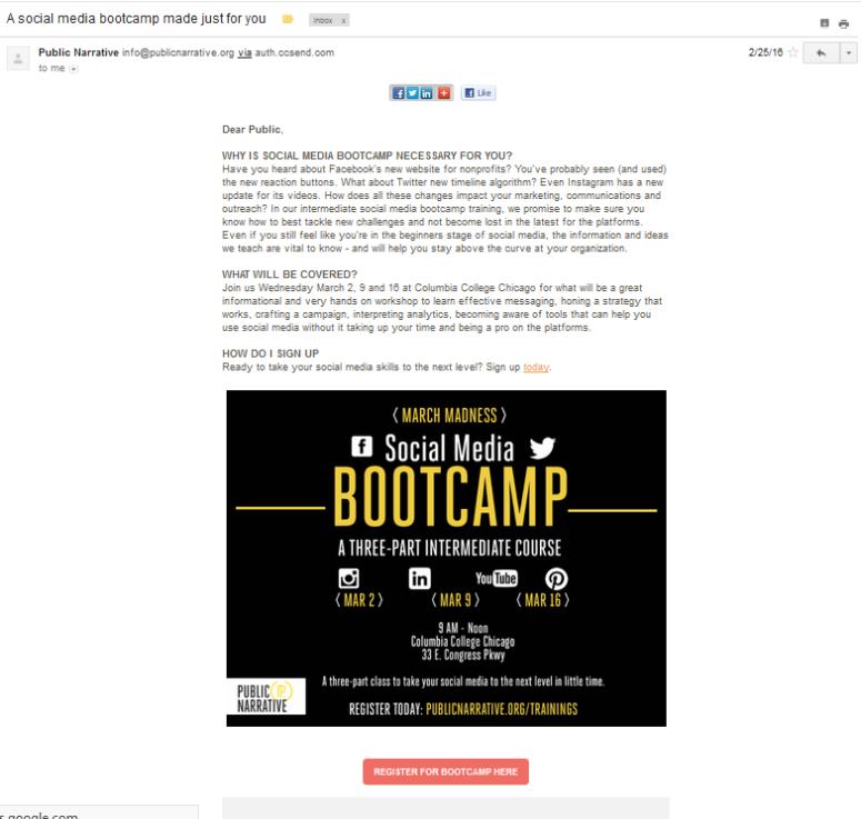 Email-Sample Portfolio